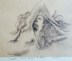 Woman Tossing In Her Sleep