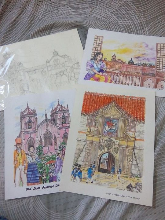 HISTORY CARDS - Art of EgongVon