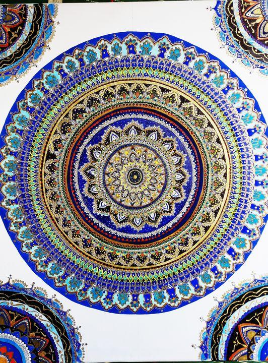 Mandala artwork - Brushydame