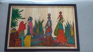 Indian women's fletching water.