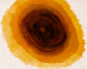 Abstract art - Yellow - KK Digital Artwork