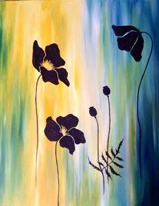 Black Poppies - Original art