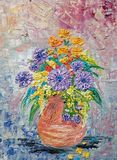 Original  painting  flower