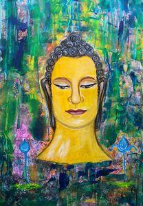 Original Buddha happiness