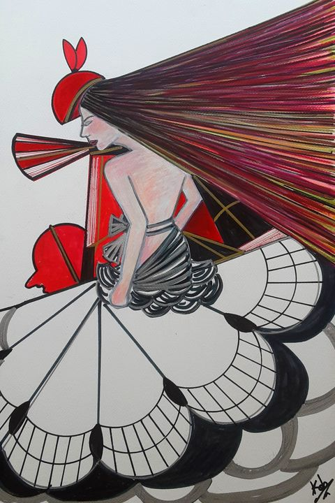 Cubist lady 2 - Kob