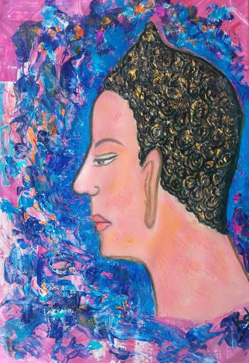 Original Buddha style art - Kob