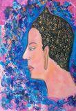 Buddha oil painting art