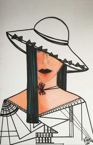 Cubist lady