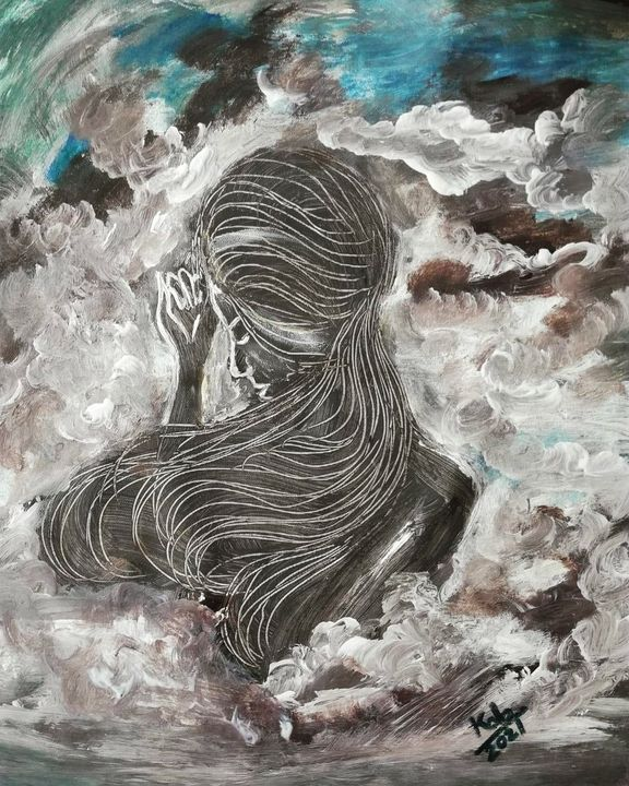 Woman in the clouds - Kob