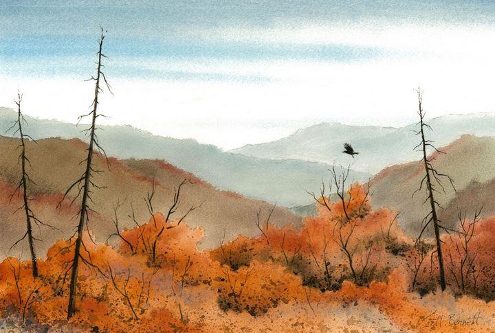 Autumn Heat - Scott Bennett Fine Art