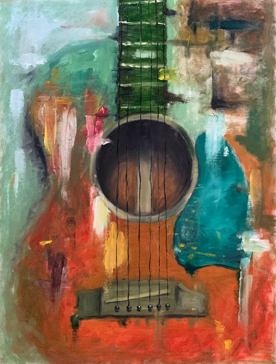 Abstract Guitar - Lalit Kapoor