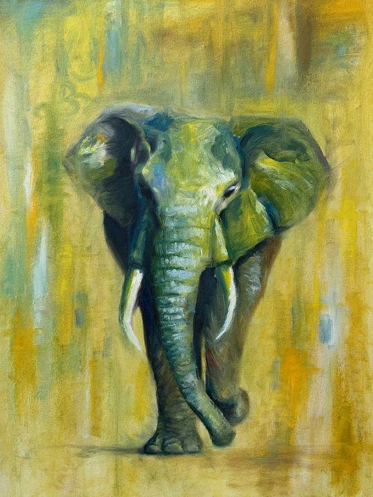 GajRaj - The Elephant - Lalit Kapoor