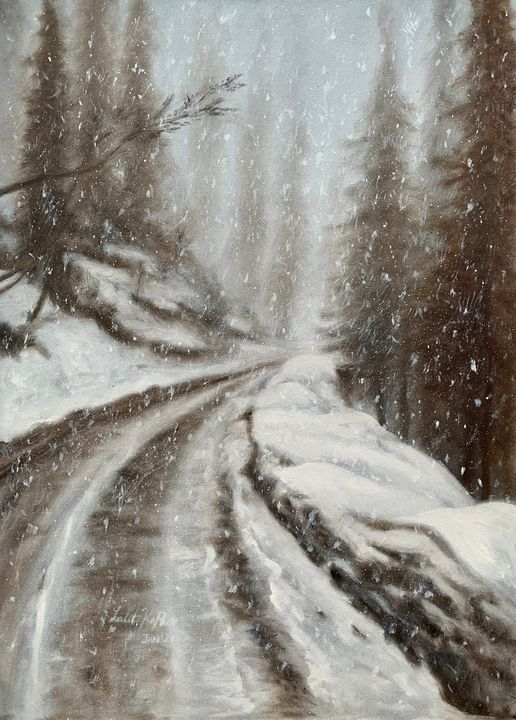 Falling Snow - Lalit Kapoor
