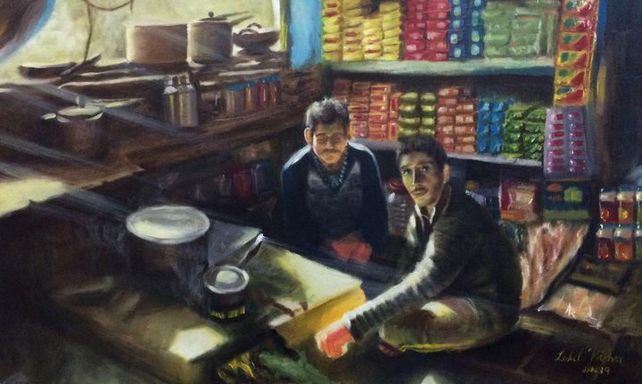 Tea Shop - Lalit Kapoor