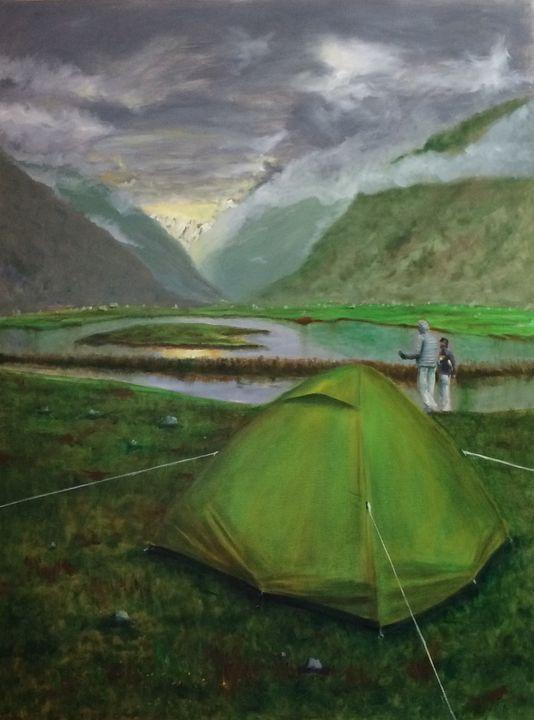 Campsite - Lalit Kapoor
