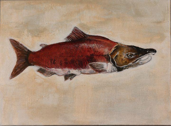 Salmon - Ella Musaeva