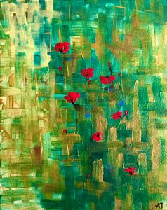 Poppies - Angela Tocila Art