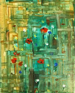 Poppies 3 - Angela Tocila Art