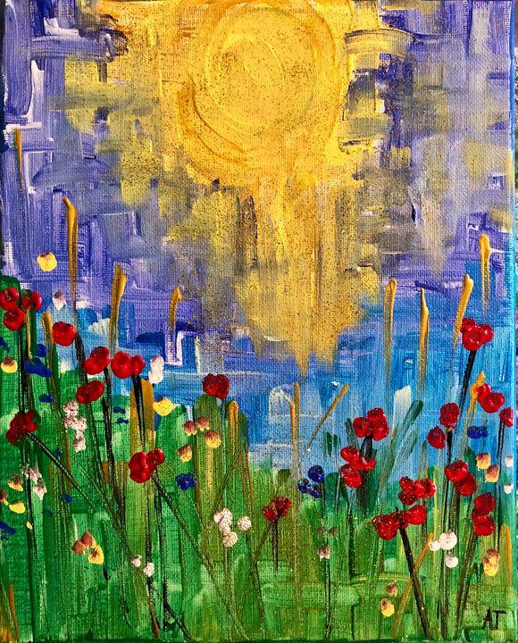 Celebrating life - Angela Tocila Art
