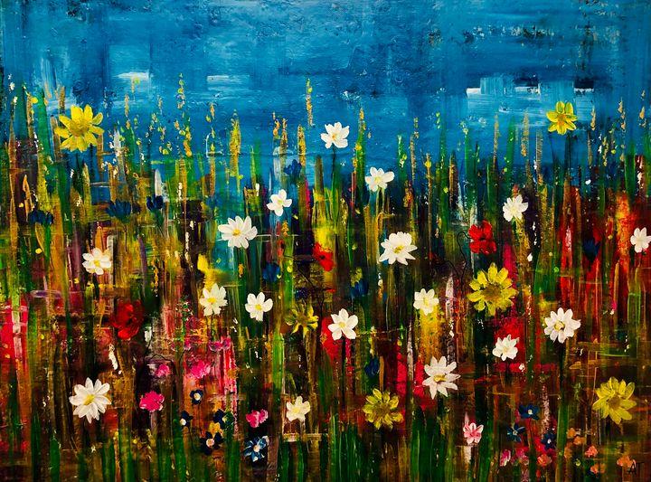 Another hot summer night - Angela Tocila Art