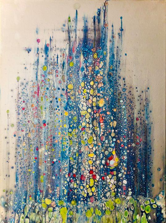 City Lights - Angela Tocila Art