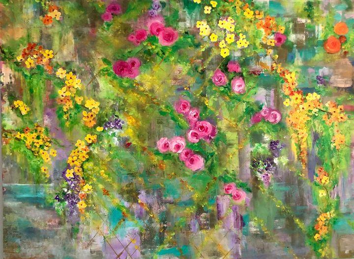 Heavenly Garden - Angela Tocila Art