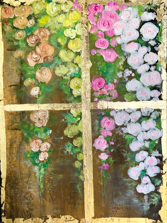 The Window to Dreamland - Angela Tocila Art