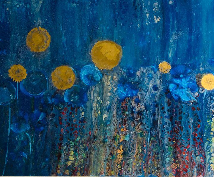 Golden Gardens - Angela Tocila Art
