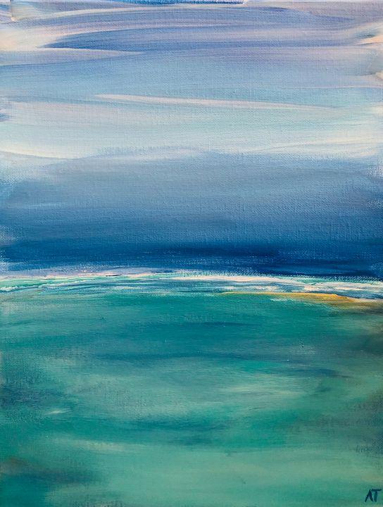 By The Sea - Angela Tocila Art