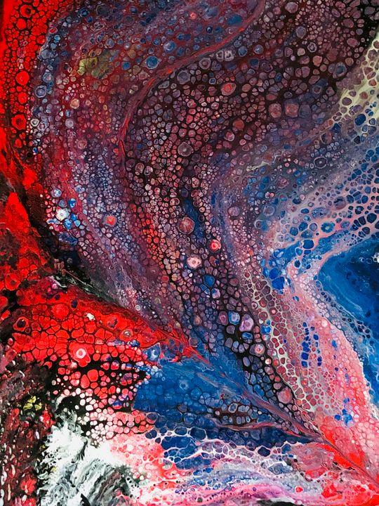 Fly me to The Moon - Angela Tocila Art
