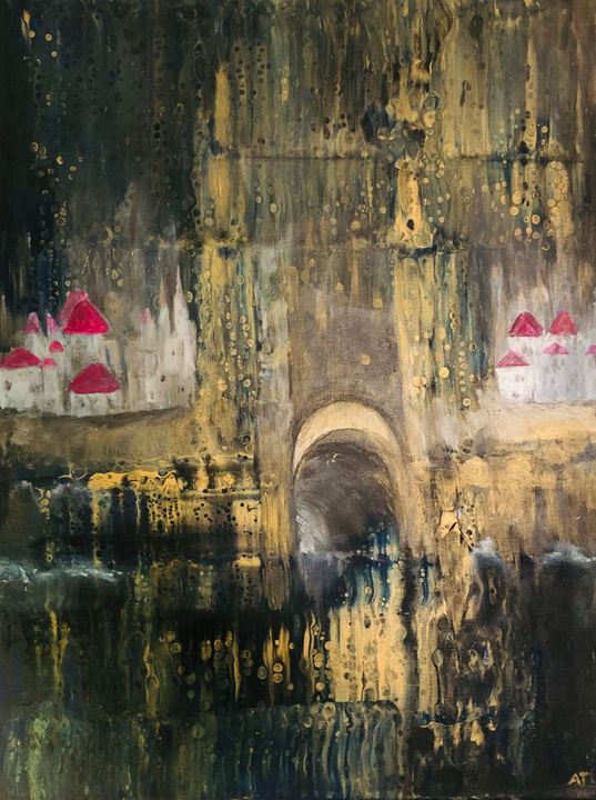 Lost Citadel - Angela Tocila Art