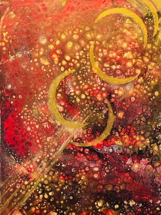 Traveling light - Angela Tocila Art