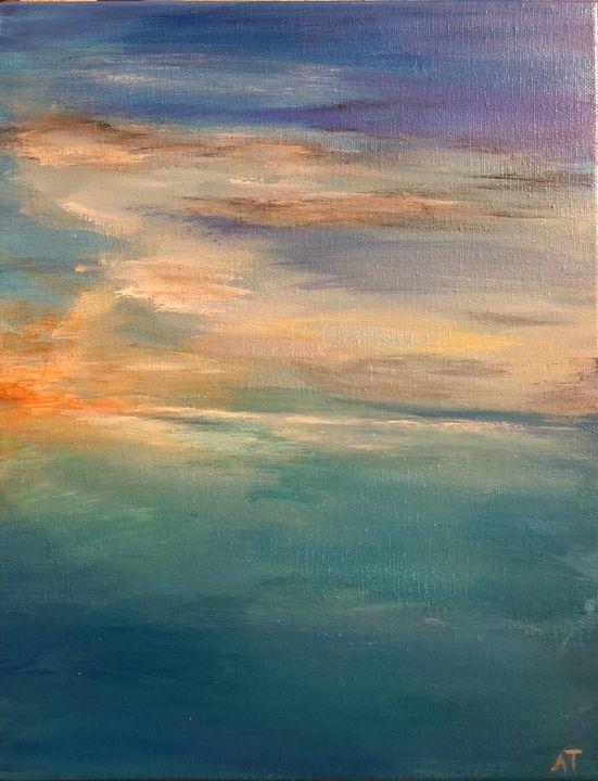 Sunrise - Angela Tocila Art