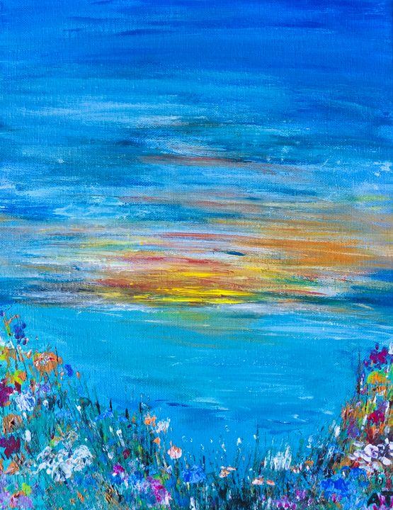 Sunset in Paradise - Angela Tocila Art