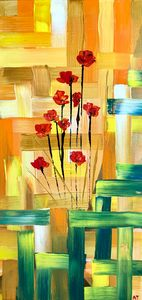 Poppies - Angela Tocila Art