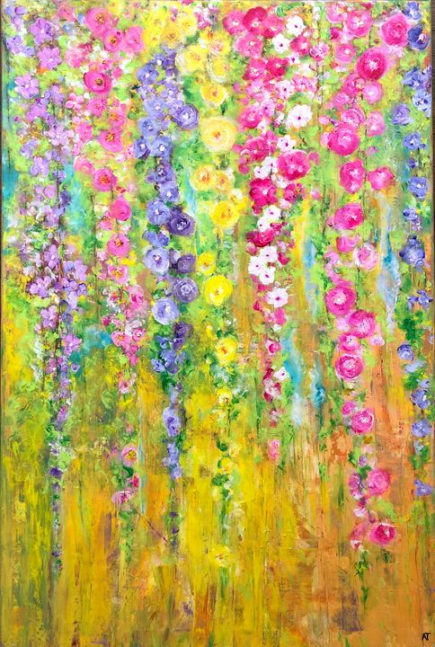 Flower Shower - Angela Tocila Art