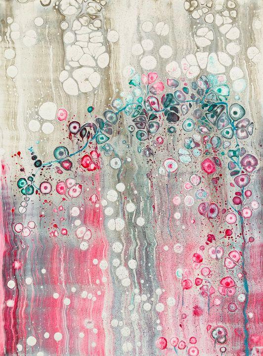 Astral Traveler - Magic Garden - Angela Tocila Art