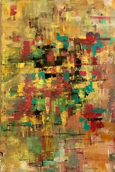 Abstract No 18 - Angela Tocila Art