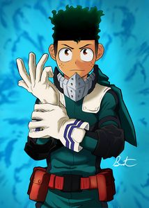 My Hero Academia (deku) poster