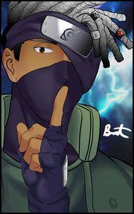 Naruto Kakashi sensei (black)