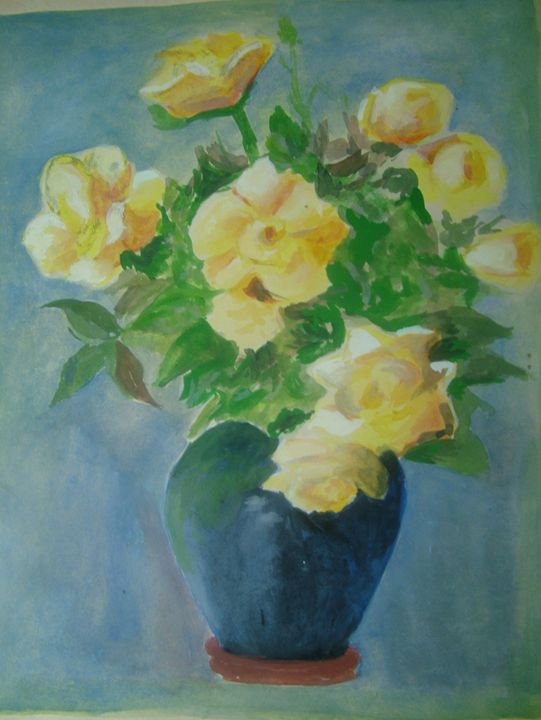 FLOWER POT - R K Chandawarkar