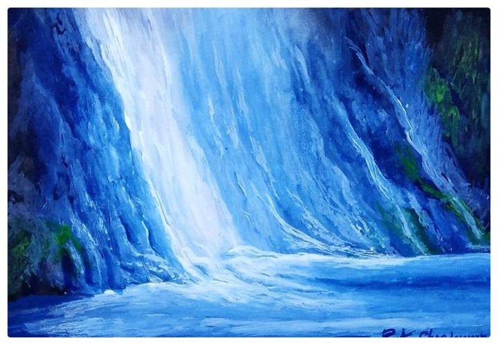 waterfalls - R K Chandawarkar