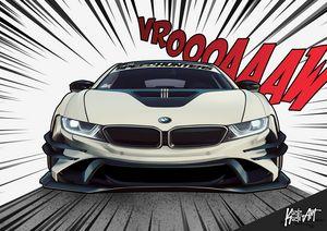 i8 Racing comic