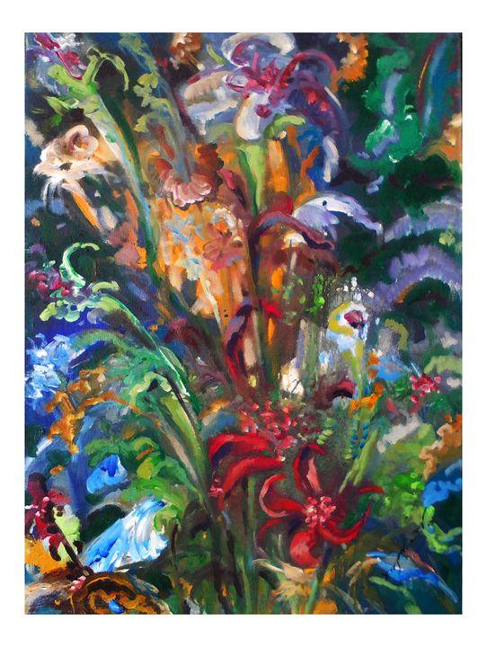 Hidden flowers - kasun chamara wickramasinghe
