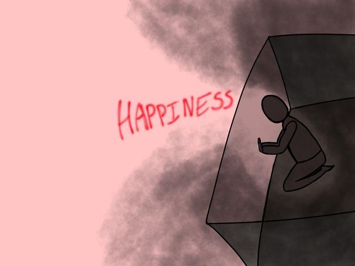 No Happiness - Digital Art