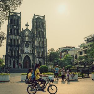 St Joseph Cathedral in Hanoi