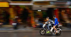 Hanoi Motorbike Kids