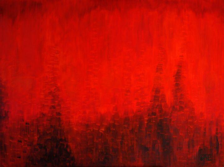 Flameland - Saeri Fae Art