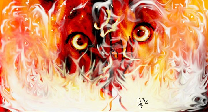 Inner Strength (6' x 4') - Emotional Expressions