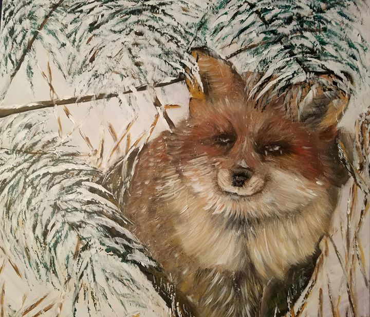 Fox in the Winter Woods - ZimArts